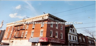 commercial building cornice repair